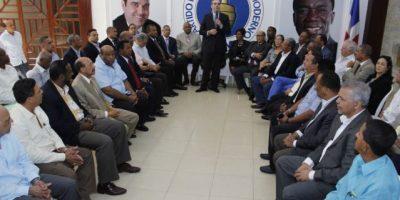 El PRM dividirá su campaña en cuatro frentes