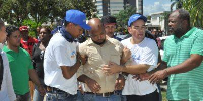 Disturbios causaron la suspensión de la docencia. Foto:Fuente externa