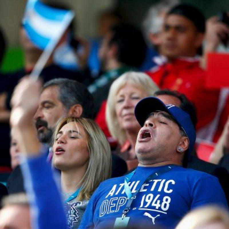 Así luce Diego Maradona en la actualidad Foto:Getty Images