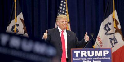 El más fuerte es el magnate Donald Trump. Foto:Getty Images