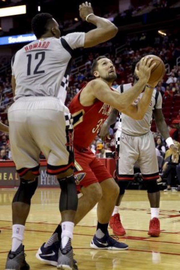 Houston Rockets vencieron 100-95 a New Orleans Pelicans Foto:AP