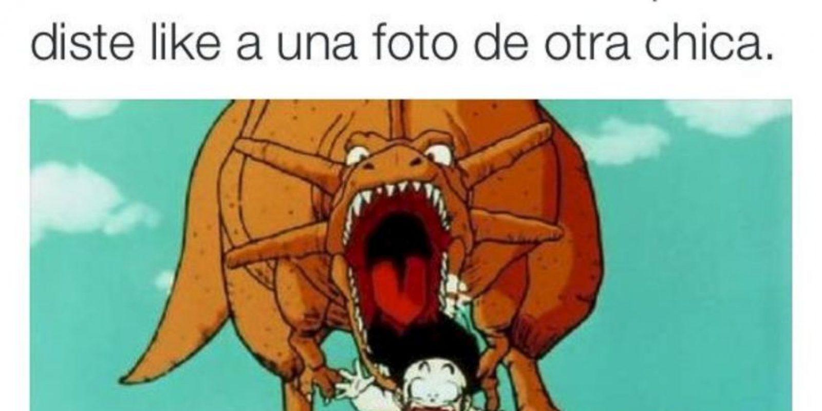 Los memes de Dragon Ball llegaron a un nuevo nivel. Foto:Bullying Mexicano/Facebook