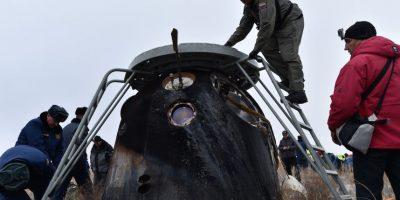 Así fue el retorno de Scott Kelly a la Tierra Foto:AFP