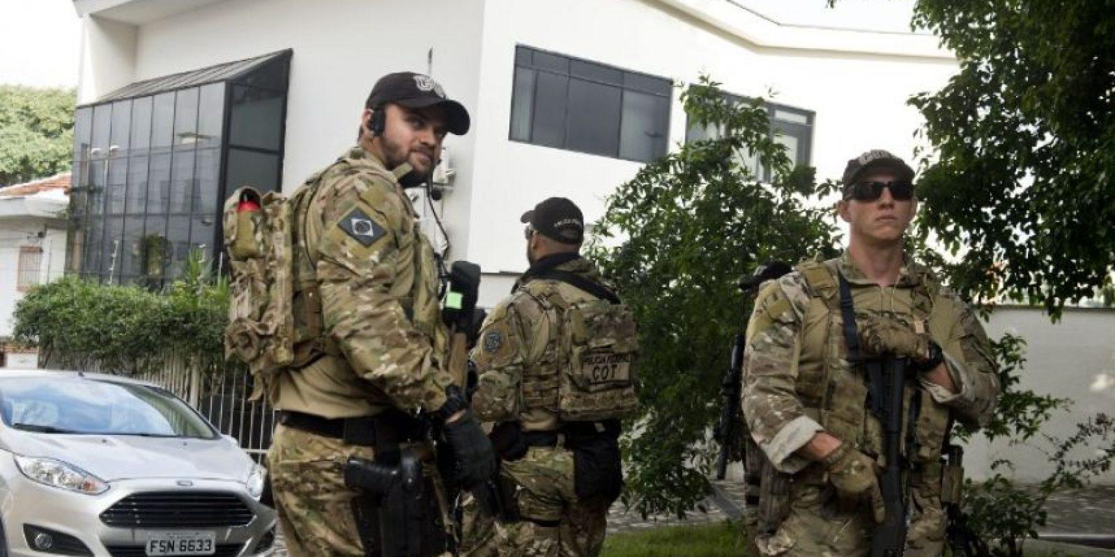 La casa fue allanada Foto:AFP