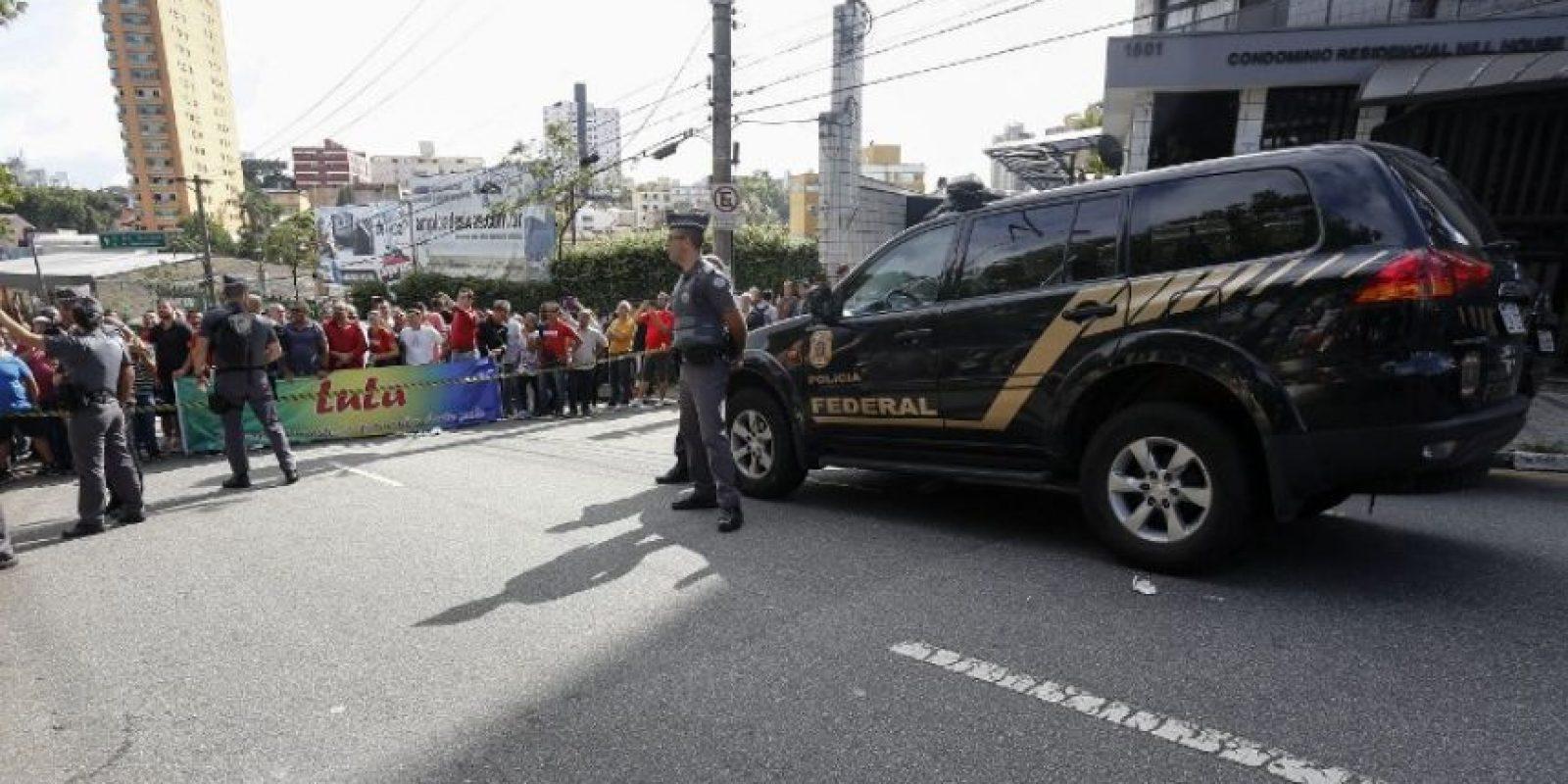 Manifestaciones de apoyo a Lula da Silva Foto:AFP