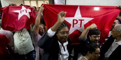 Durante su detención, distintos grupos de manifestantes mostraron su apoyo al político. Foto:AFP