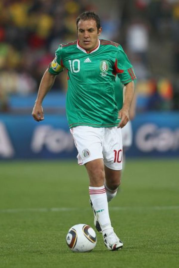 A lo largo de su carrera vistió la camiseta de… ¡11 equipos! Estos son: América, Necaxa, Veracruz, Santos, Irapuato, Dorados de Sinaloa, Lobos BUAP y Puebla de México. Foto:Getty Images
