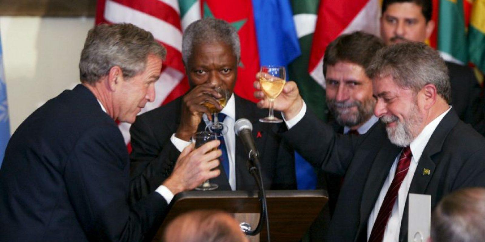 Misma que le dieron el triunfo y lo volvieron presidente hasta diciembre de 2010. Foto:Getty Images