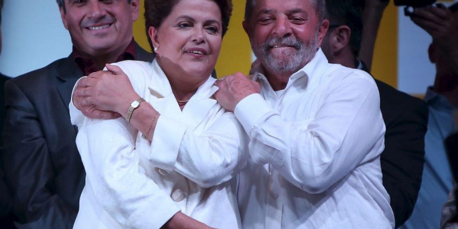 Siendo sustituido por Dilma Rousseff, actual presidenta de Brasil Foto:Getty Images