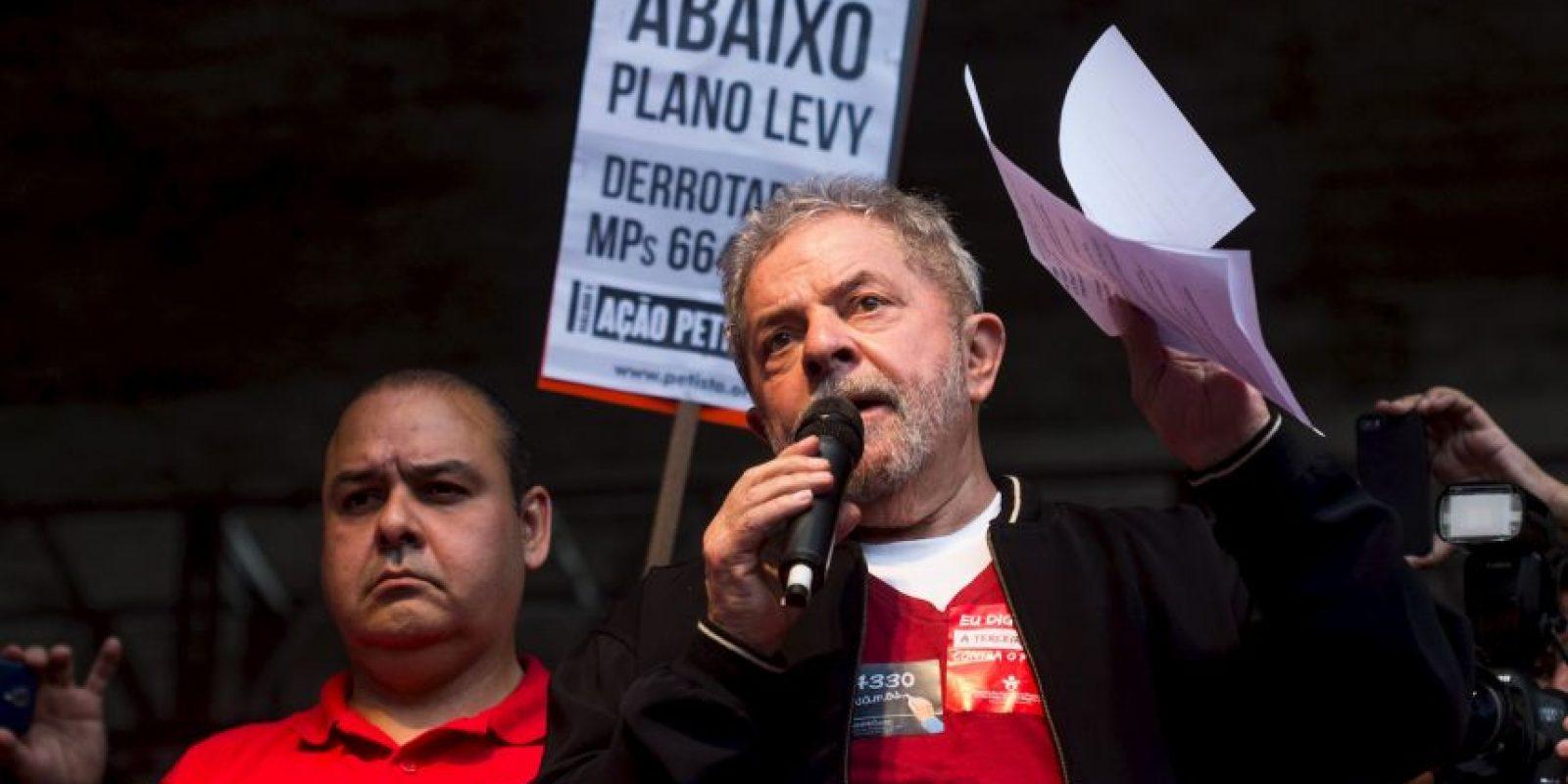 Es un político brasileño, expresidente del país. Foto:Getty Images