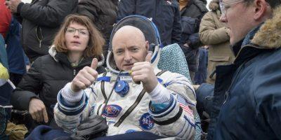 Así fue el retorno de Scott Kelly a la Tierra Foto:Getty Images