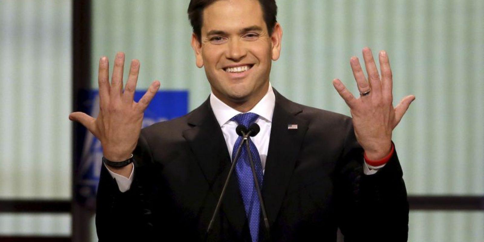 """Rubio: """"Donald Trump no apoya a los trabajadores estadounidenses"""" Foto:AP"""