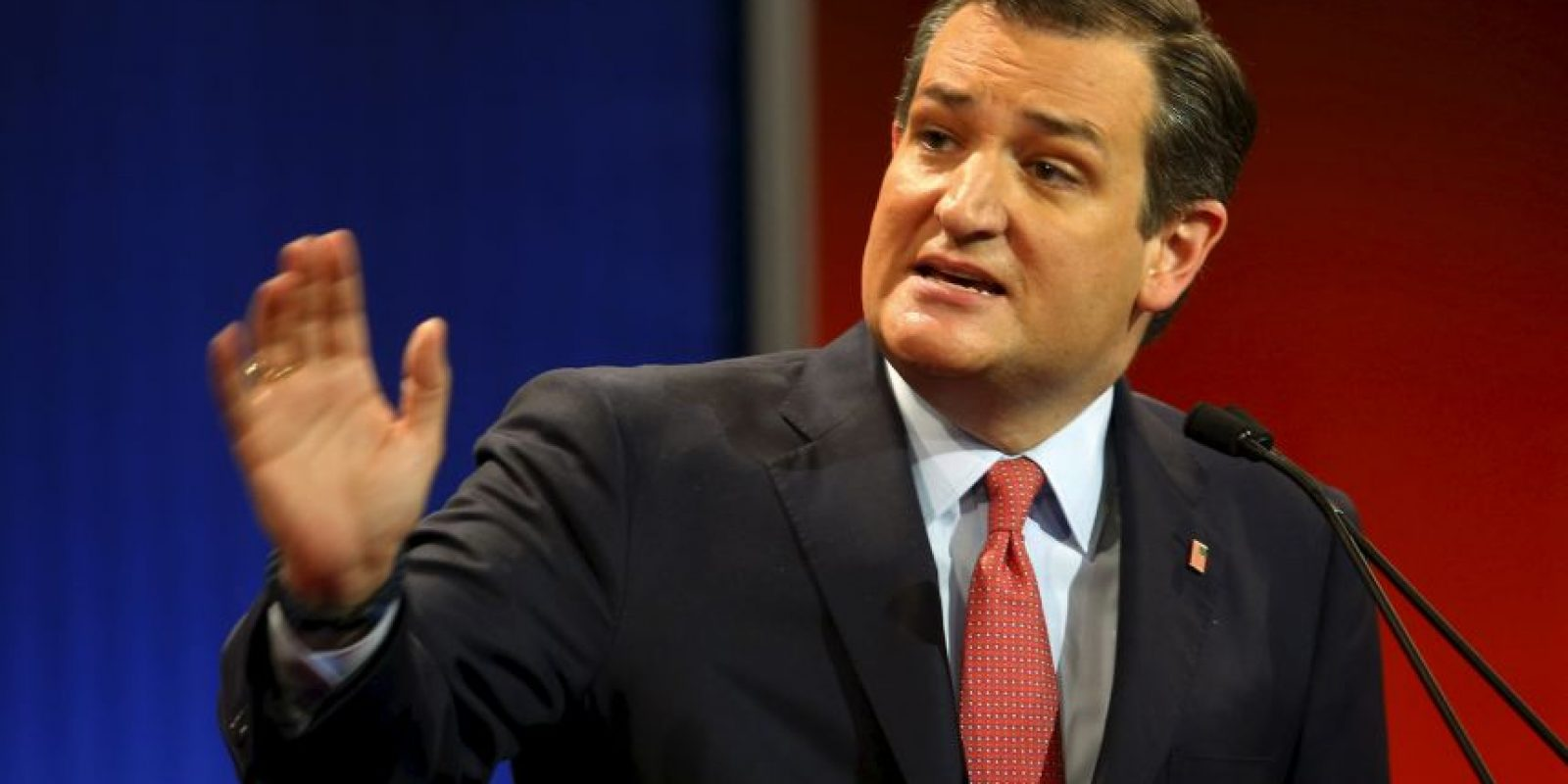 "Ted Cruz: ""Donald aprende a no interrumpir. Cuente hasta 10″ Foto: AP"