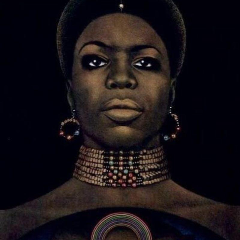 Nina Simone fue una de las artistas más aclamadas del siglo XX. Foto:Vía facebook.com/pages/Nina-Simone