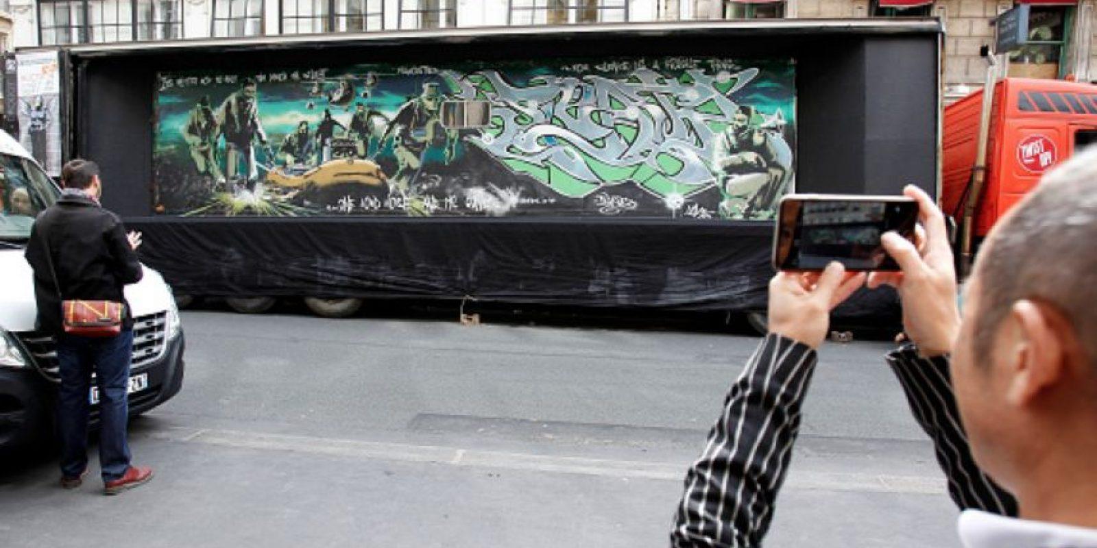 Un juego de sus cuadros se vendió en Sotheby's. Foto:vía Getty Images