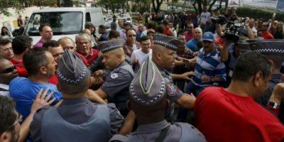 Hubo algunos enfrentamientos Foto:AP