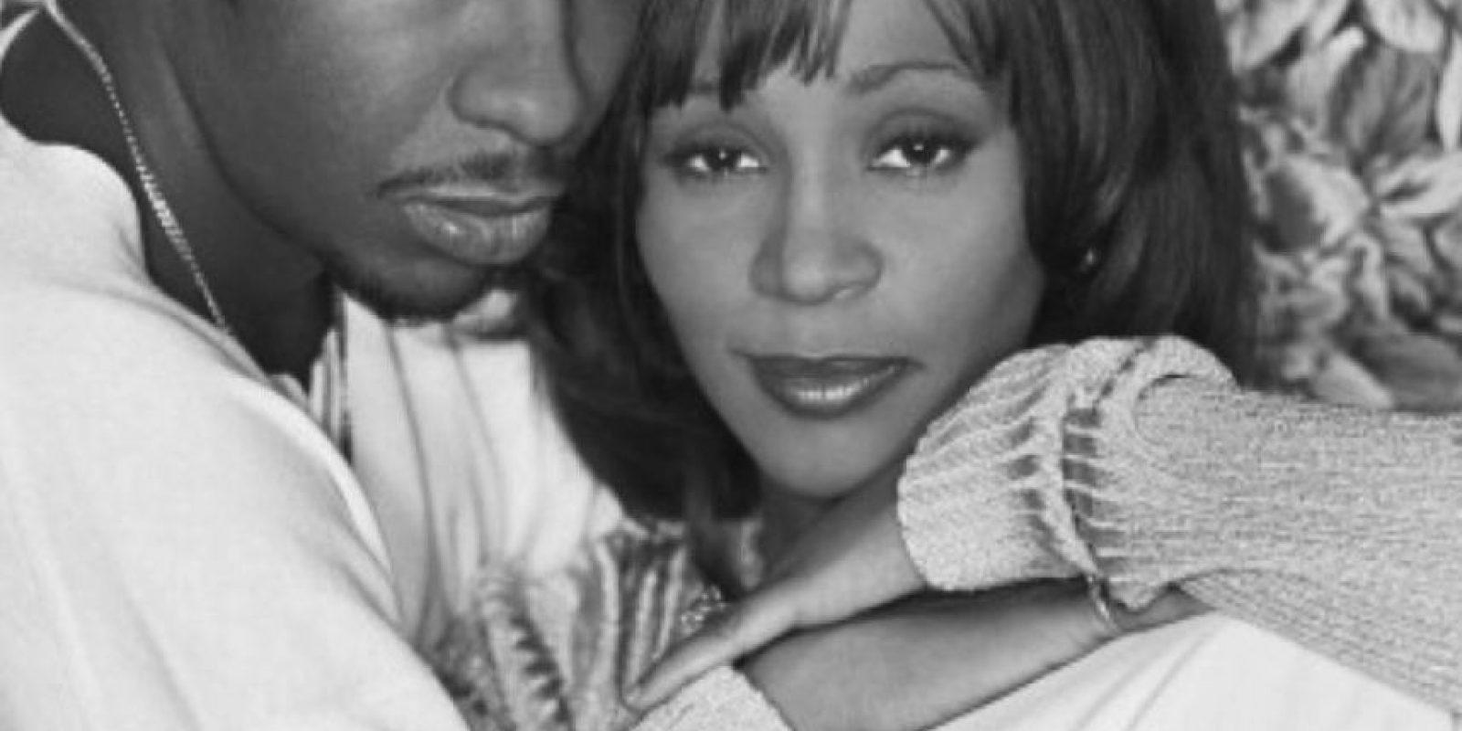 Whitney Houston tuvo una tormentosa relación con su marido, Bobby Brown. Foto:Getty Images