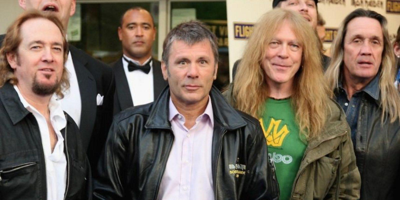 Iron Maiden complació a sus fans mexicano la noche de este jueves 3 de febrero de 2016 en el Palacio de los Deportes Foto:Getty Images