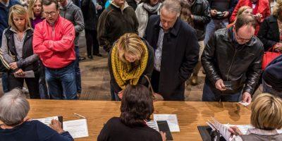 """5- Las personas de Iowa El precandidato exclamó: """"¿Qué tan estúpida es la gente de Iowa?"""", cuando empezó a perder popularidad.Trump terminó en segundo lugar en el caucus de Iowa, la primera elección oficial rumbo a la presidencia. Foto:Fuente Externa"""