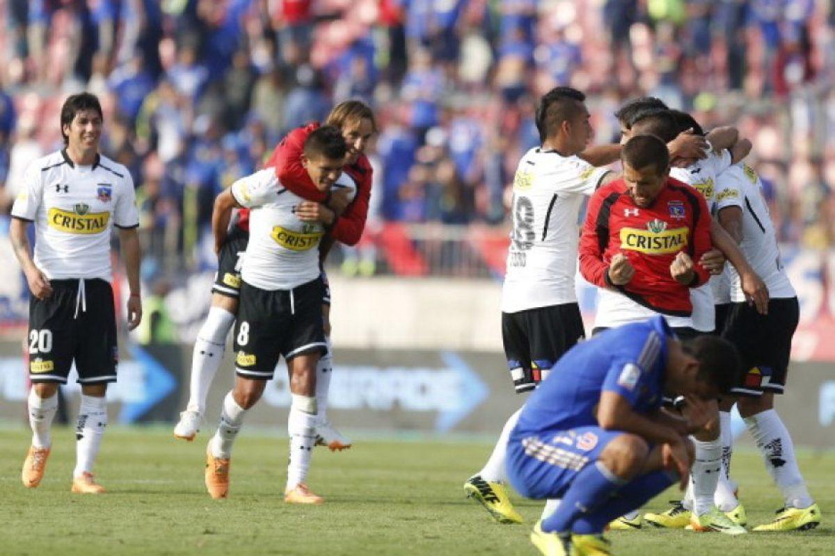 Colo Colo (13.83 MDE) vs. Universidad de Chile (16.25 MDE) = 30.08 MDE Foto:Getty Images