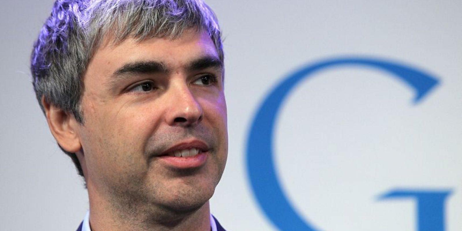 12. Larry Page. El empresario tiene una fortuna de 35 mil 200 millones de dólares. Su compañía, Google. Foto:Getty Images