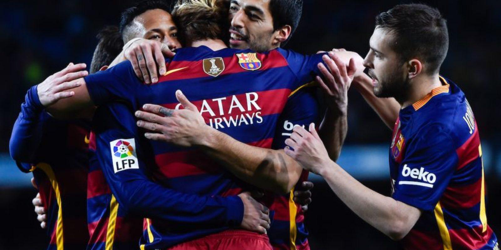 El Barcelona está imparable en la Liga, Copa del Rey y Champions League. Foto:Getty Images