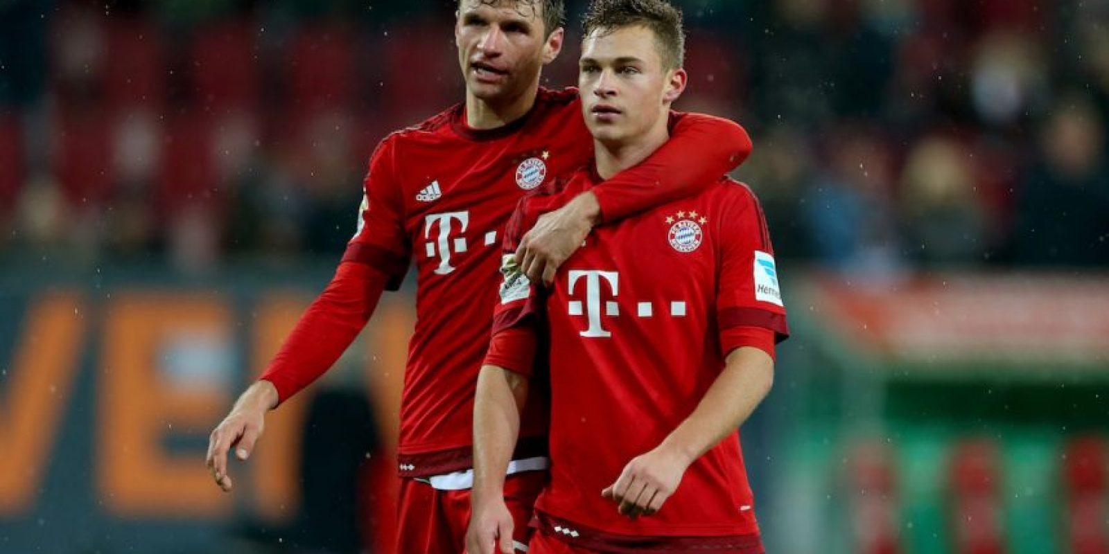 Kimmich tiene 21 años y es uno de los jóvenes valores del fútbol alemán. Foto:Getty Images
