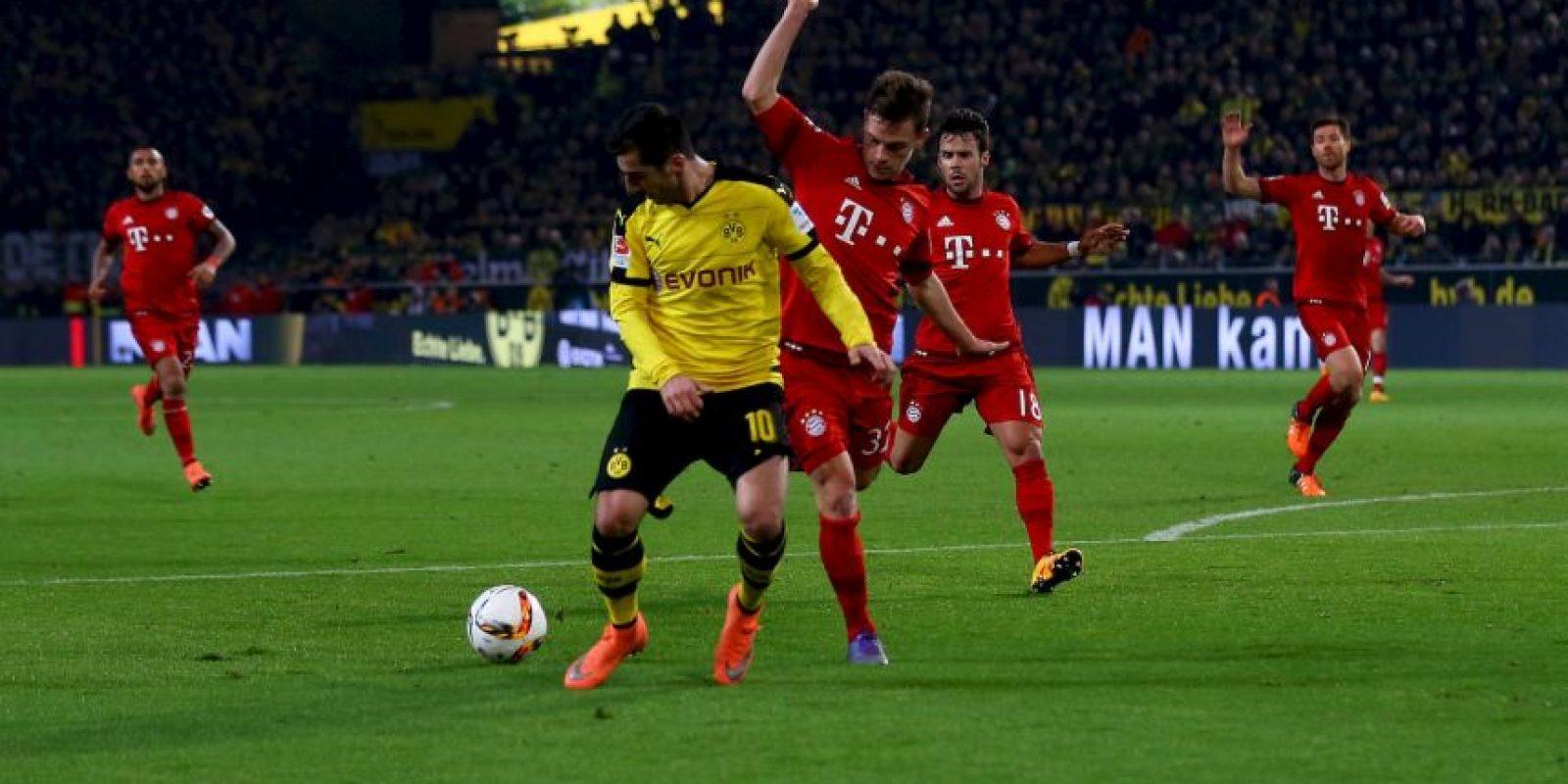 Joshua Kimmich, defensa del Bayern Munich, no dio su mejor partido contra el Borussia Dortmund. Foto:Getty Images
