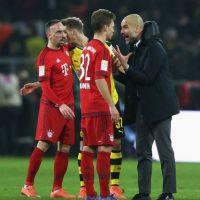 Y Pep Guardiola se lo hizo ver. Foto:Getty Images