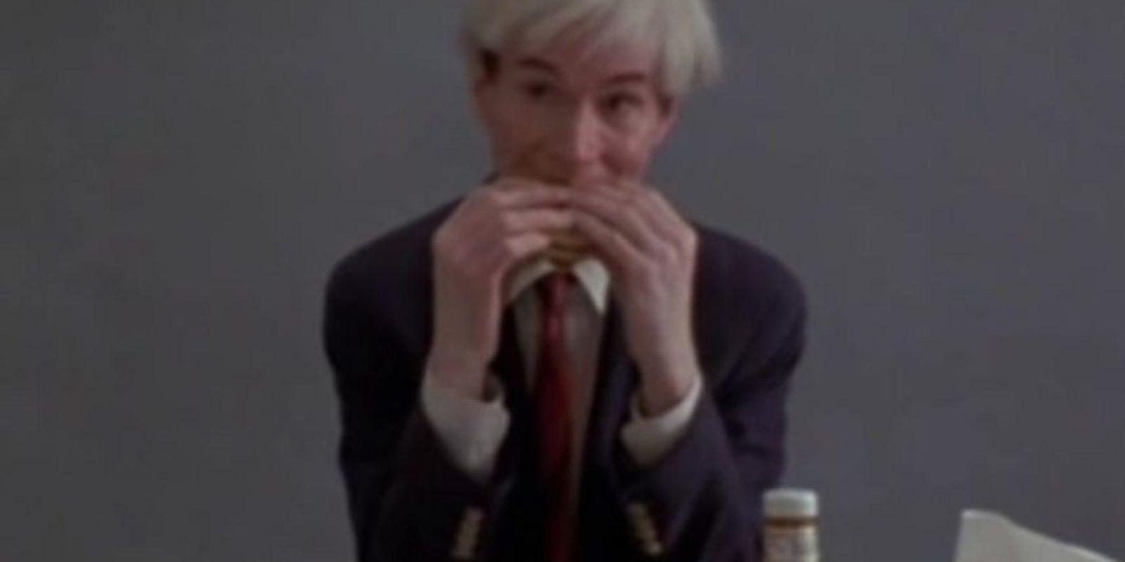 Andy Warhol Foto:Vía Youtube