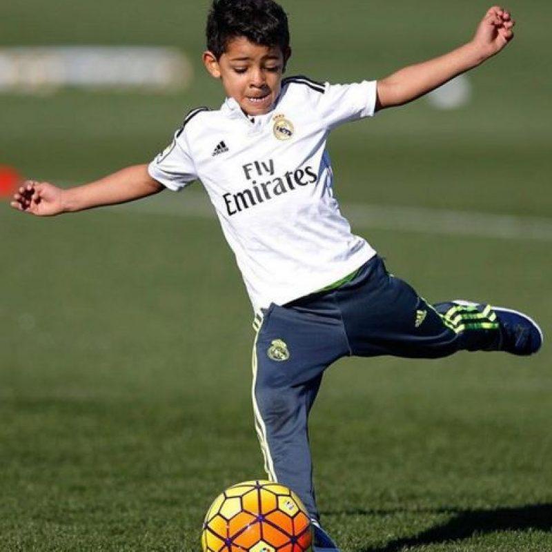 Cristiano Jr nació en el verano de 2010. Foto:Vía instagram.com/Cristiano