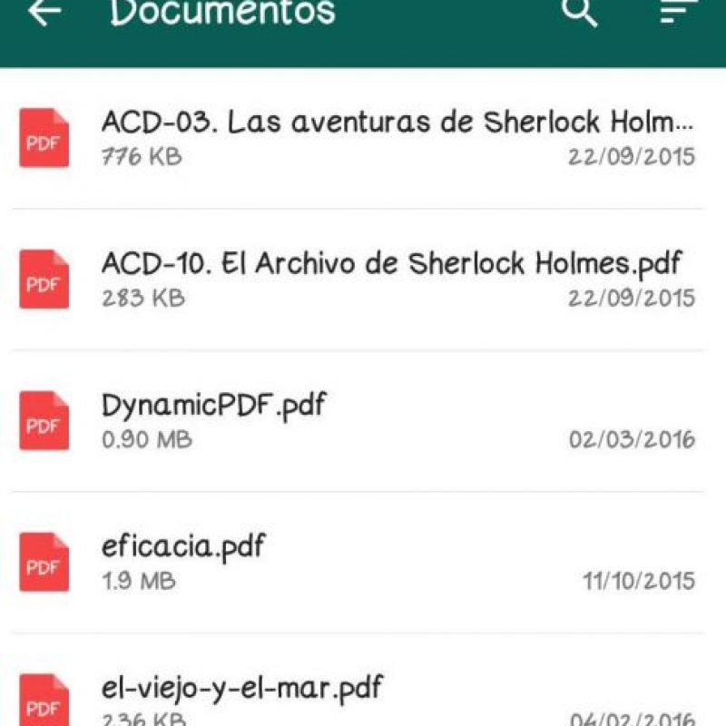 """Siempre y cuando sean archivos en PDF. Aún no hay fecha sobre la posiblidad de enviar de archivos de texto """".doc"""" y hojas de cálculo """".xls"""". Foto:Vía twitter.com"""