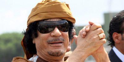 4. Muammar Gaddafi / Murió el 20 de octubre de 2011, un día después de un gol de Ramsey. Foto:Getty Images