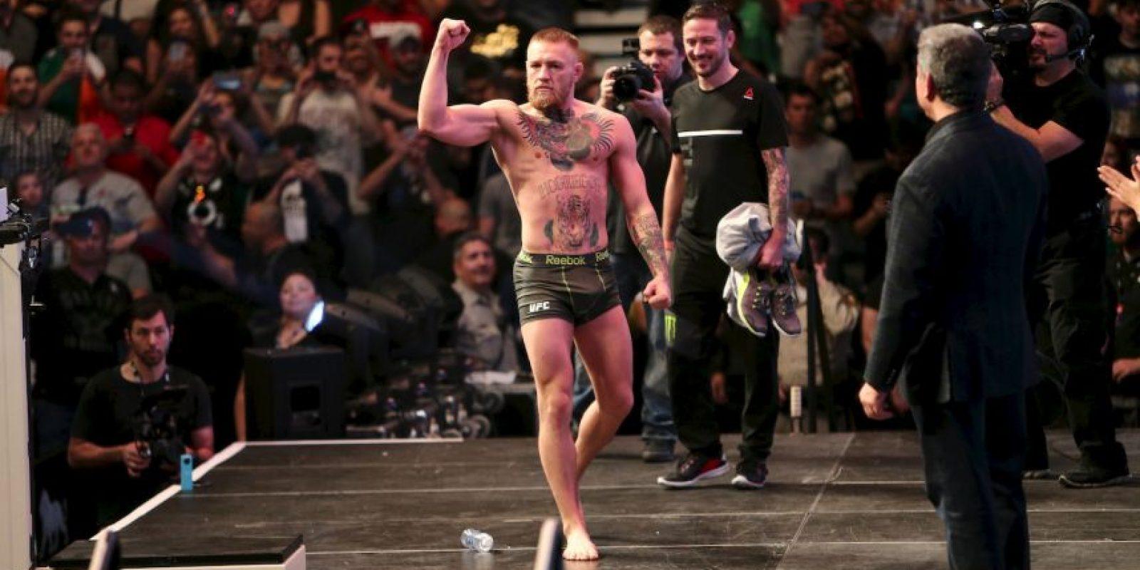 Y finalmente, se terminó el sueño del irlandés por tener dos cinturones de categorías diferentes. Foto:Getty Images