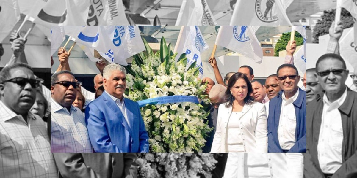 PRD defiende pacto con PLD en acto aniversario nacimiento de Peña Gómez