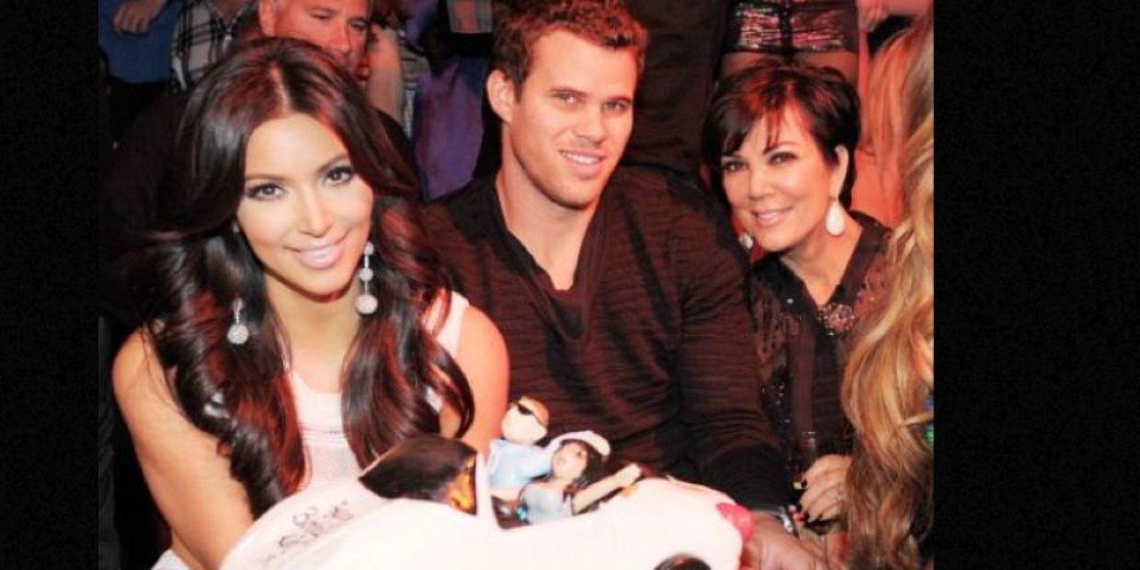 Kris Humphries siempre alegó que todo su matrimonio con Kim fue una farsa. Foto:vía Getty Images