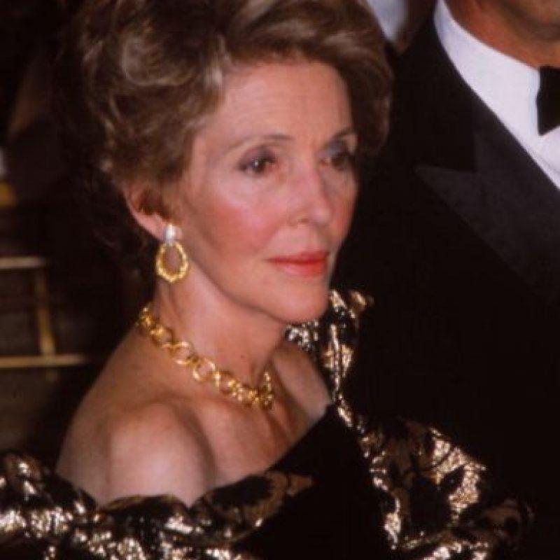 Fue la segunda Primera Dama en abrir las puertas de la Casa Blanca a las celebridades, luego de Jackie Kennedy. Foto:vía Getty Images