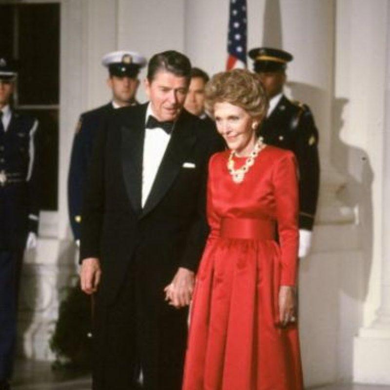 Esta pareja de exactores rigió los destinos de Estados Unidos en los años 80. Foto:vía Getty Images