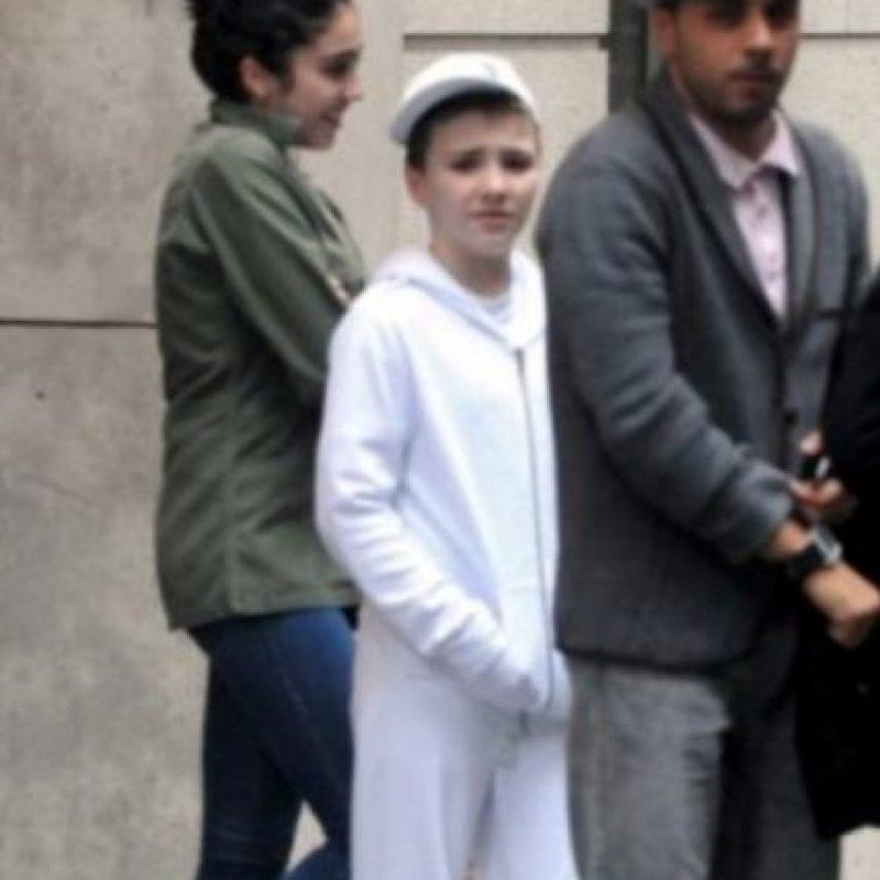 Rocco parecía seguirle los pasos a su madre. Foto:vía Instagram/tryadum