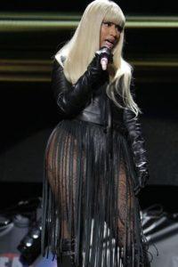 Así se ve en los conciertos. Foto:vía Getty Images