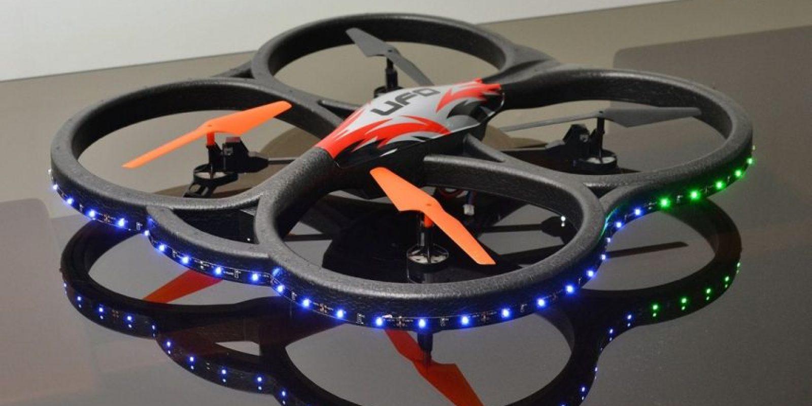 Drone para proyecto de traslado de análisis médicos Foto:Mario de Peña