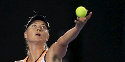 Sharapova convocó a una conferencia de prensa Foto:Getty Images
