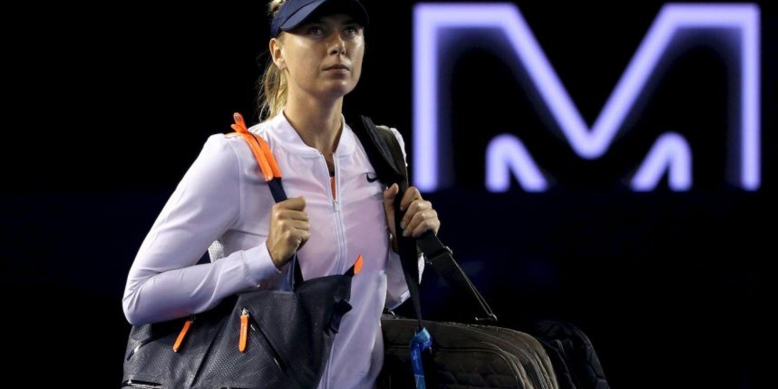 Se espera una suspensión para la tenista rusa. Foto:Getty Images