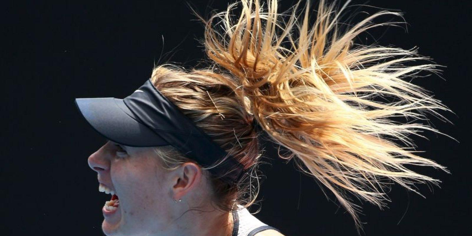 Maria Sharapova confesó que dio positivo en un examen antidopaje Foto:Getty Images