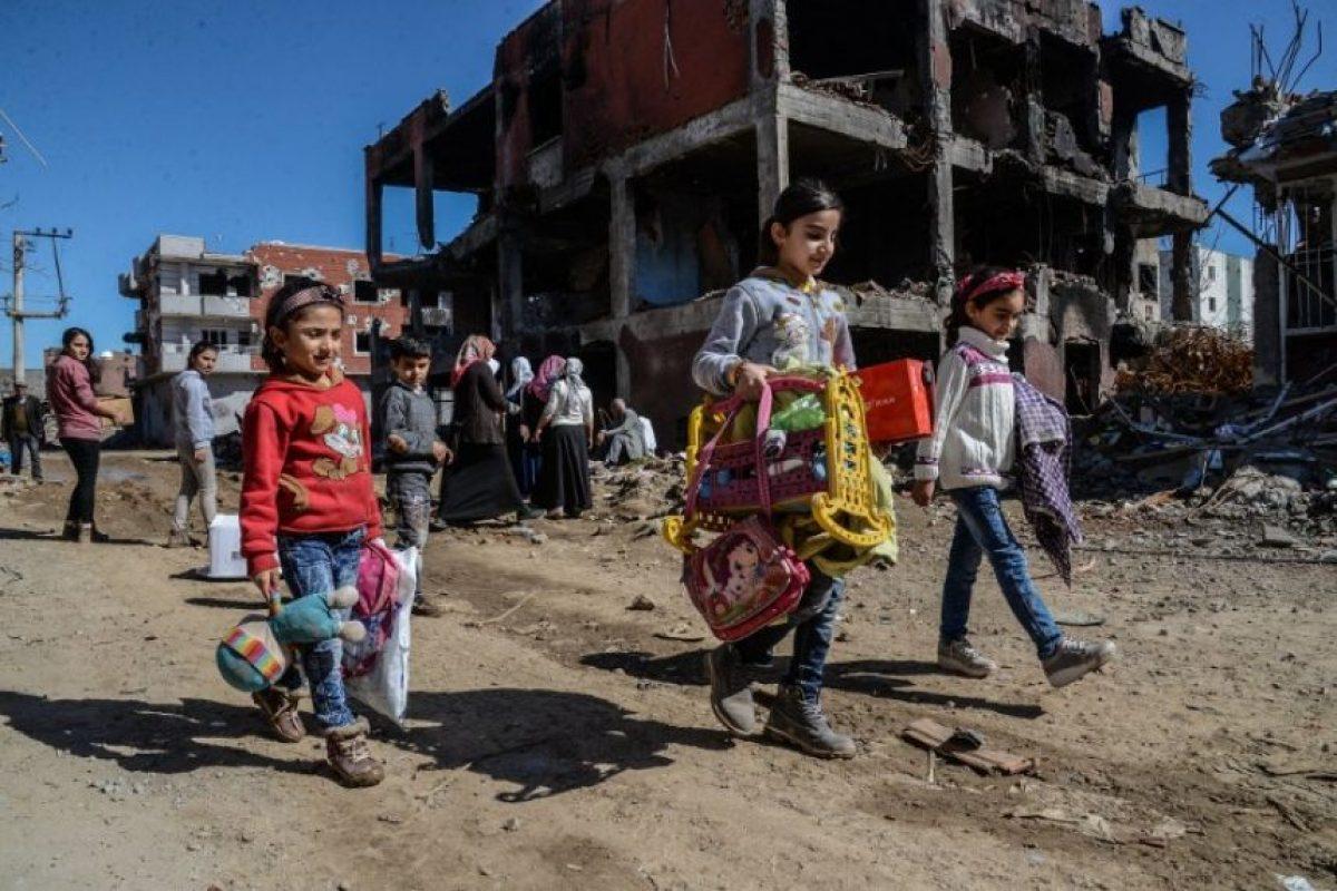 Durante un evento organizado por las Naciones Unidas con motivo del Día Internacional de la Muje Foto:AFP