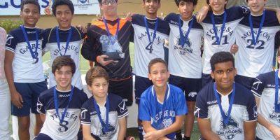 """Dragons de SGS son campeones en el """"XXXV Copa Deportiva del Saint George School 2016"""""""