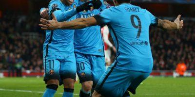Forma parte de la MSN, junto a Lionel Messi y Luis Suárez Foto:Getty Images