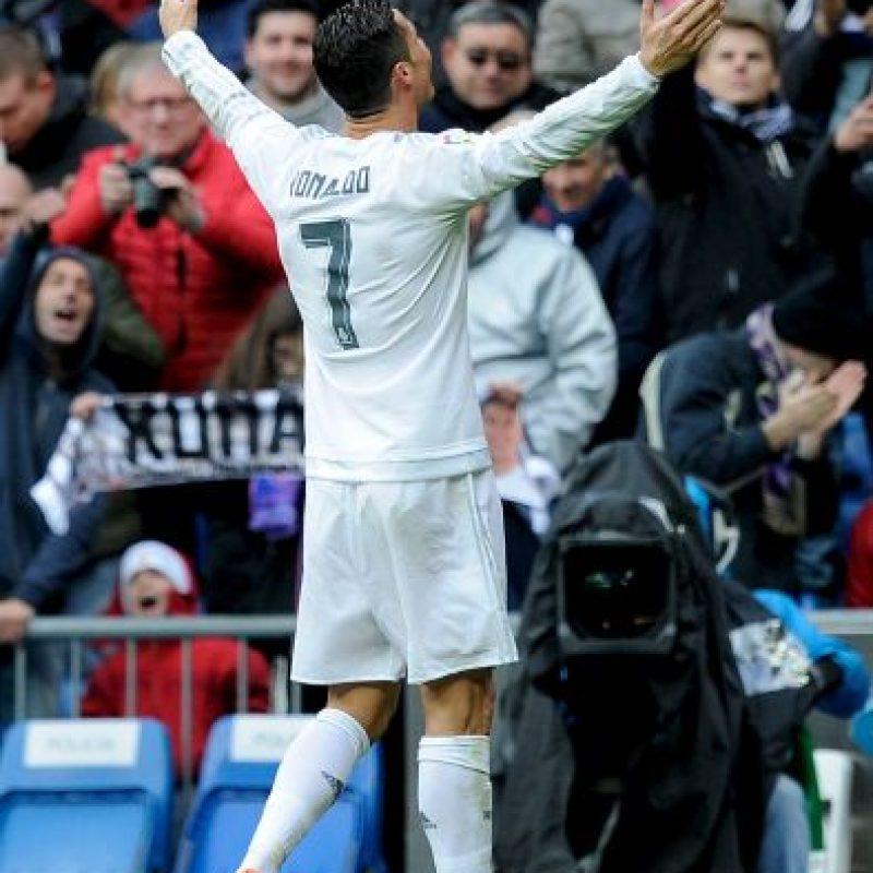 """Abrió el camino para que los """"merengues"""" vencieran en el partido de vuelta Foto:Getty Images"""