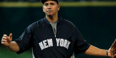 Alex Rodriguez. El dominicano fue suspendido por 162 partidos, ya que la MLB lo encontró implicado en un caso de dopaje Foto:Getty Images