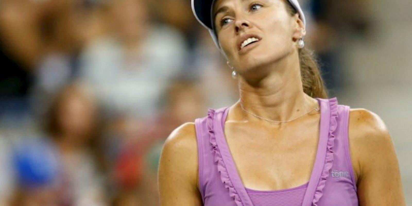 Martina Hingis: La tenista suiza confesó en 2007 que había dado positivo por cocaína y fue suspendida por dos años de las pistas Foto:Getty Images